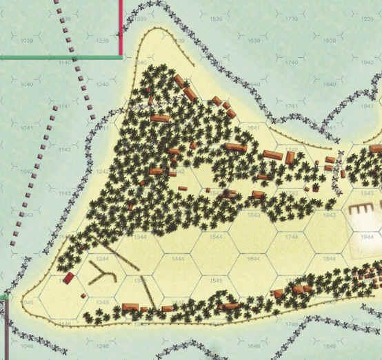 Death Ride Tarawa Map