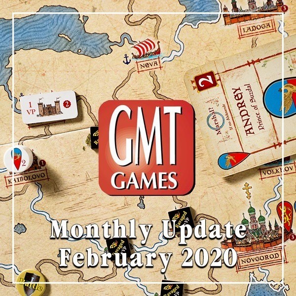 GMT Games February Monthly Update Banner