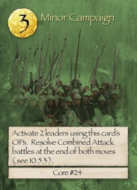 Barbarians at the Gates Minor Campaign Card