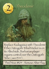 Barbarians at the Gates Theodemir Card
