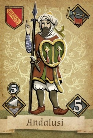 Granada Andalusi Card