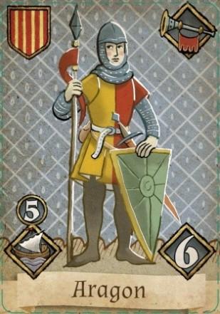 Granada Aragon Card