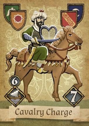 Granada Cavalry Charge Card