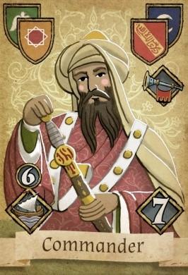 Granada Commander Card