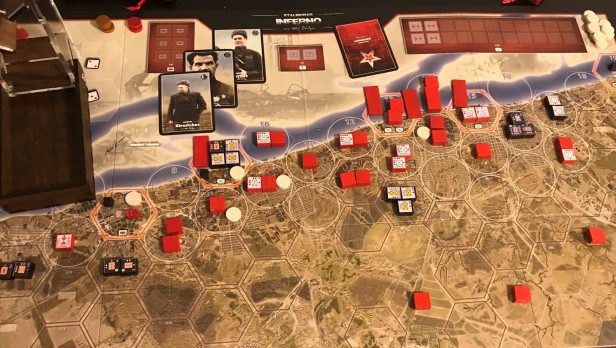 Stalingrad Inferno on the Volga Top Stacked Hex