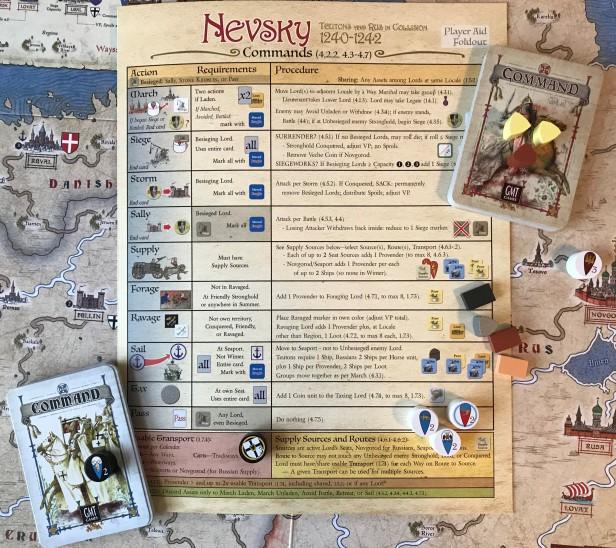 Nevsky Commands