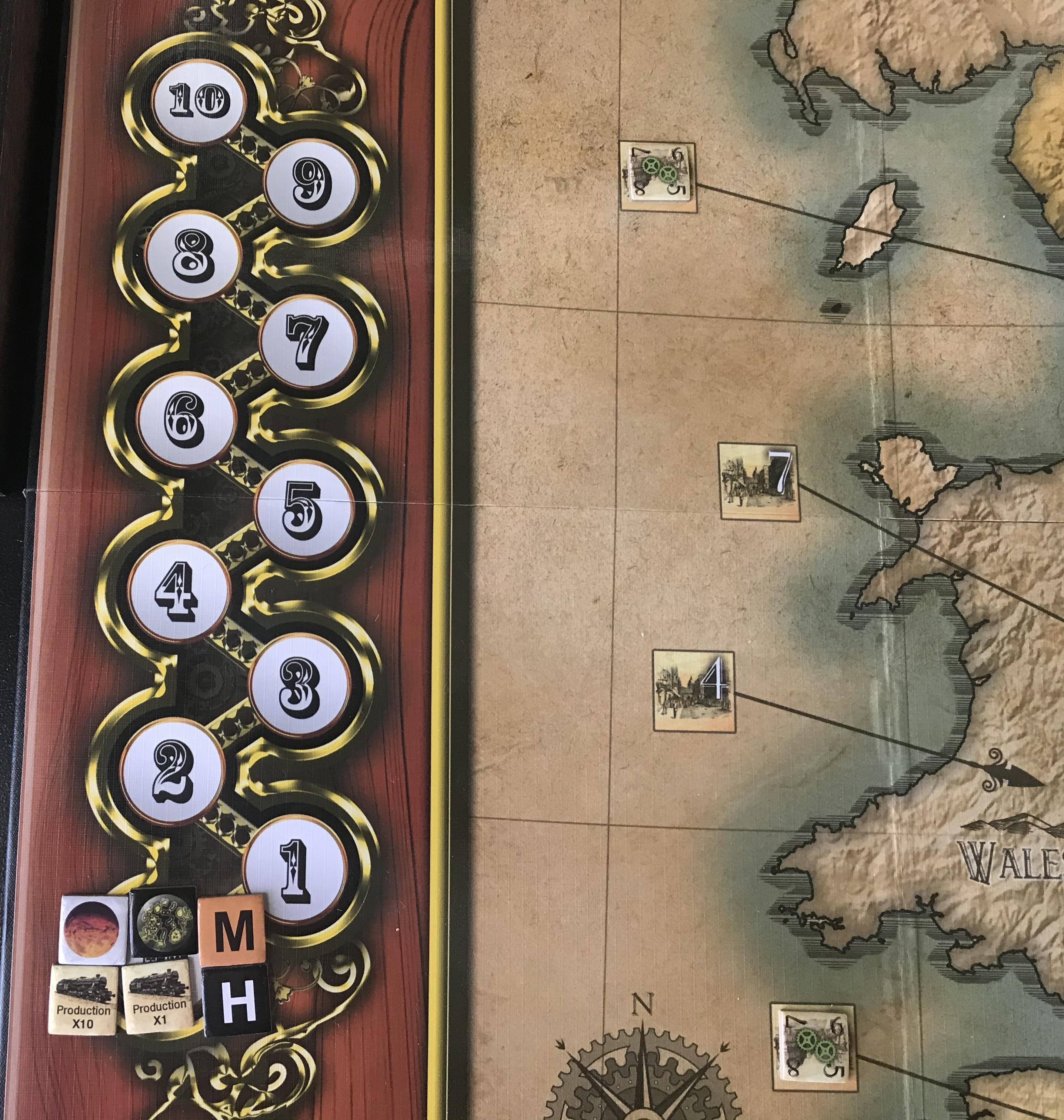 War of the Worlds Progress Track