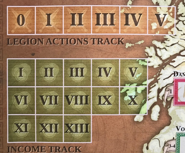 Agricola Legion Actions Income Tracks