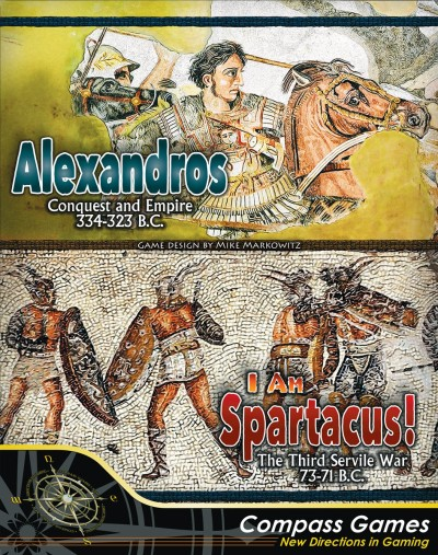 Alexandros and Spartacus Cover