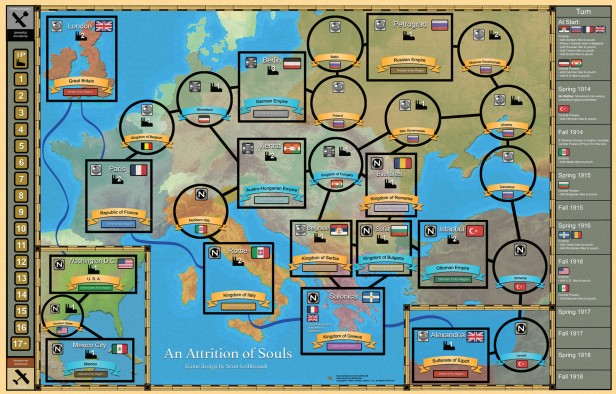 An Attrition of Souls Map