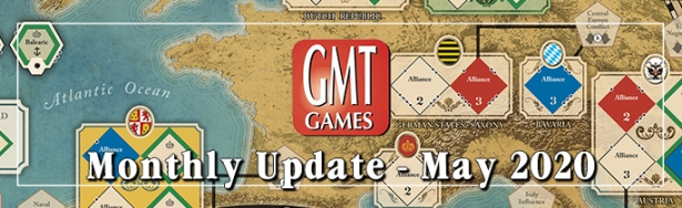GMT Games May Monthly Update Banner