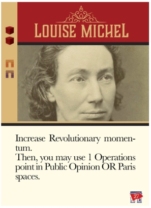 History Behind the Cards - Louise Michel