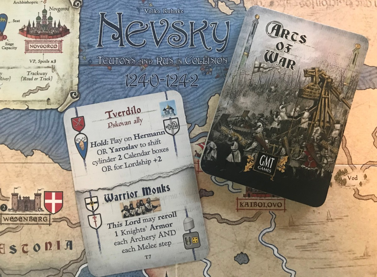 Nevsky: Teutons and Rus in Collision, 1240-1242 from GMT Games – Action Point 3