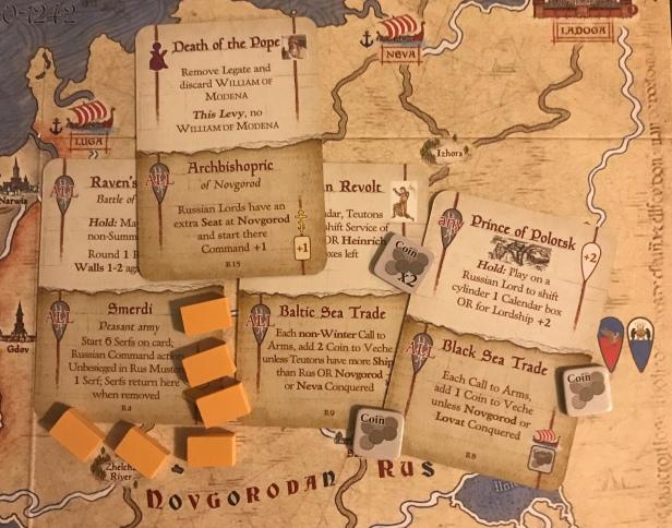Nevsky Rus Cards