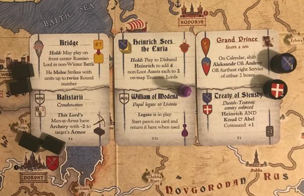 Nevsky Teuton Cards