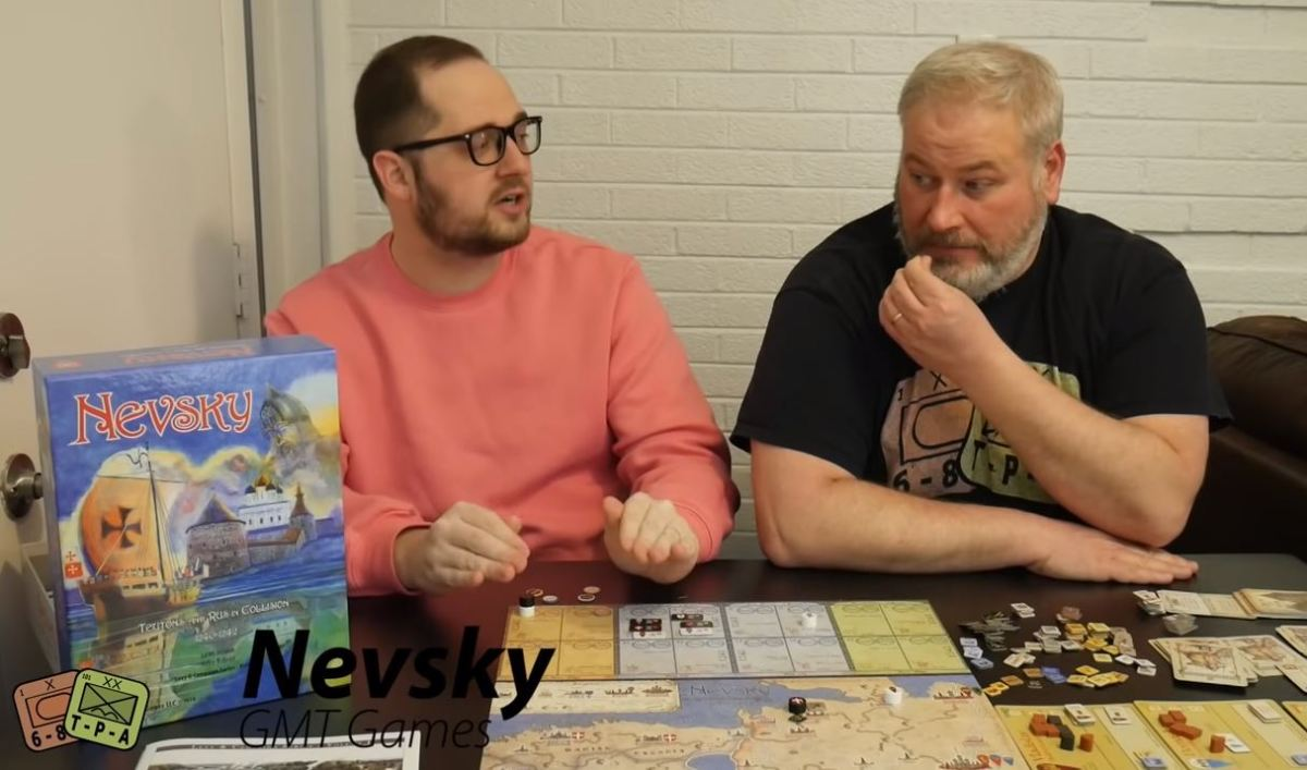Video Review: Nevsky: Teutons and Rus in Collision, 1240-1242 from GMT Games