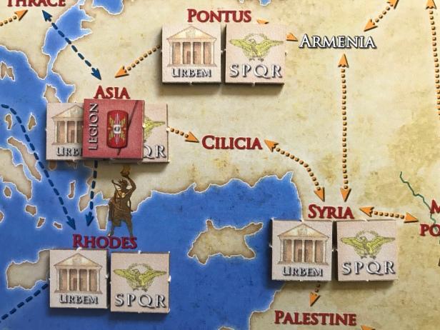 Solitaire Caesar Moving Legion 1