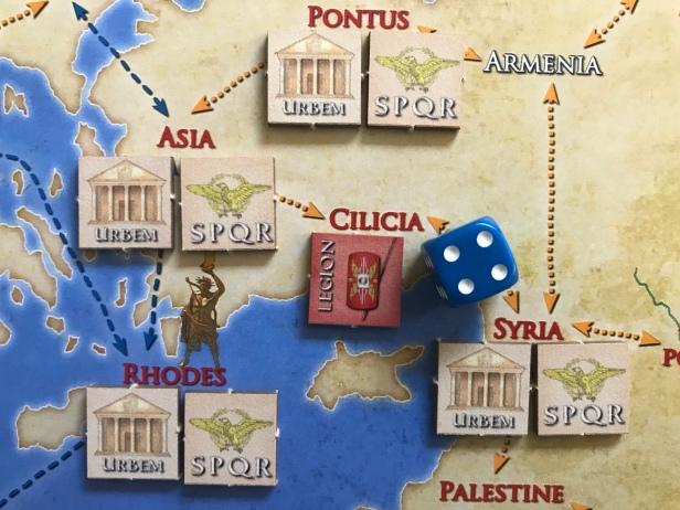 Solitaire Caesar Moving Legion 2