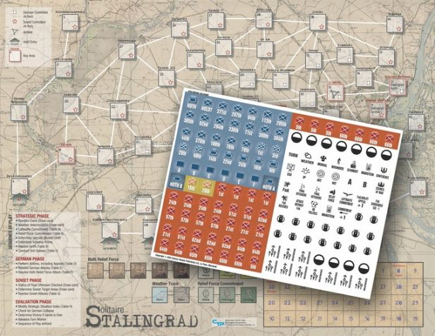 Solitaire Stalingrad Game Map