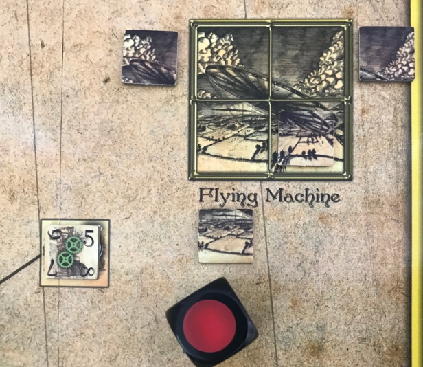 The War of the Worlds Flying Machine Built