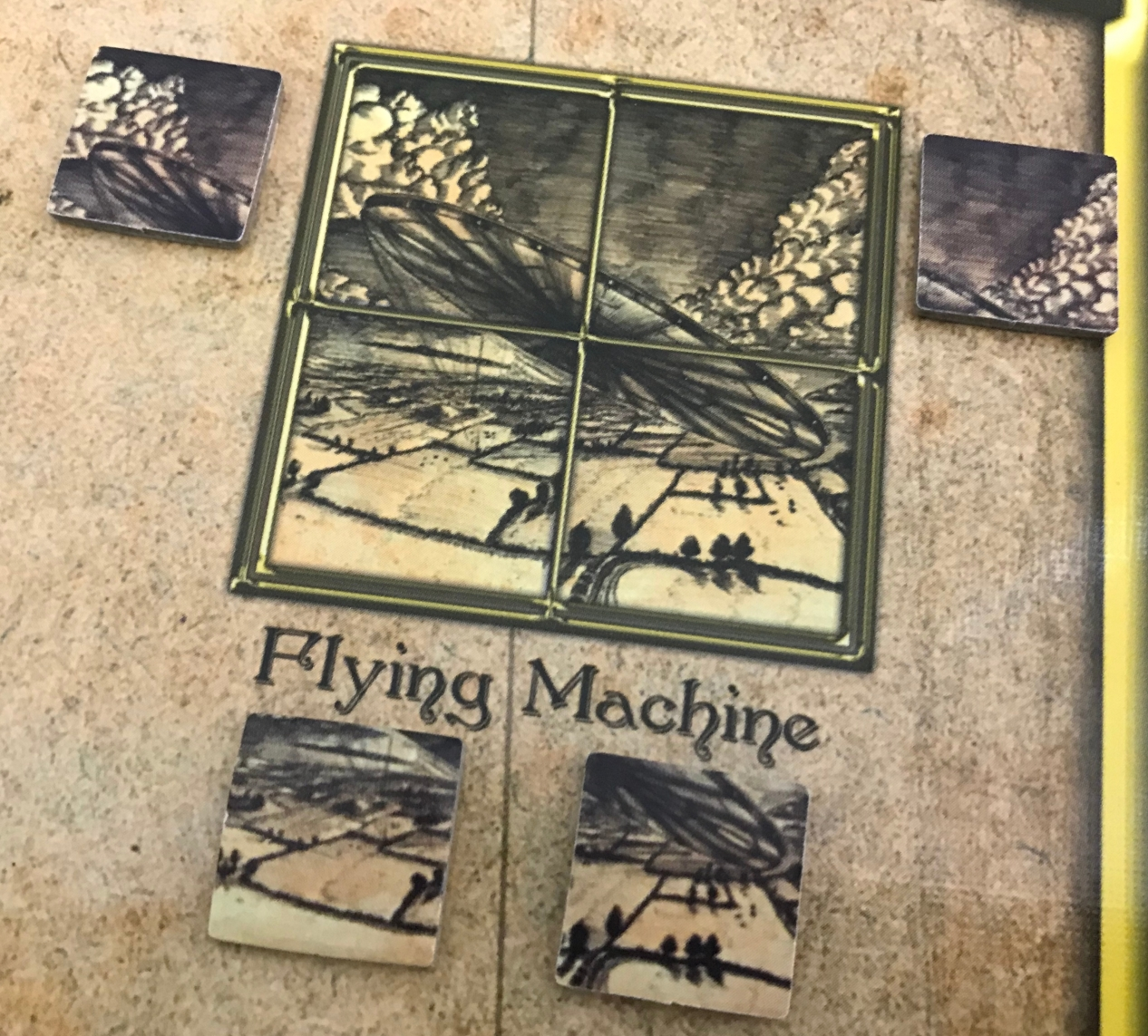 The War of the Worlds Flying Machine