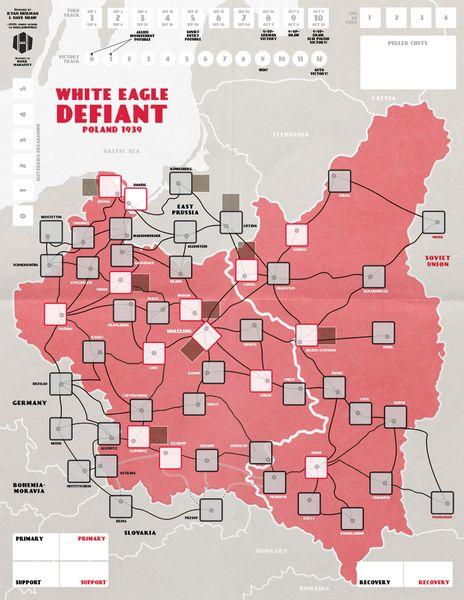 White Eagle Defiant Map