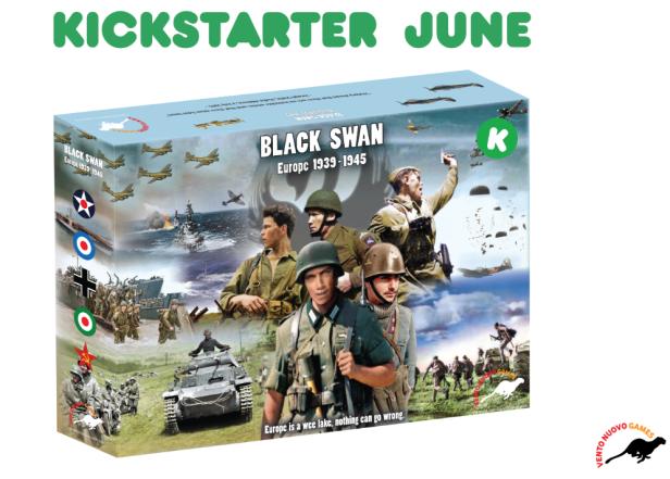 Black Swan Cover Kickstarter
