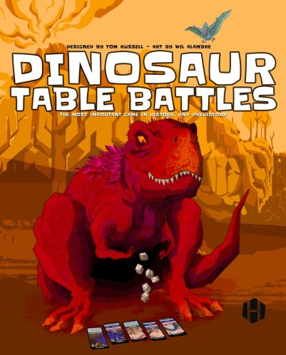 Dinosaur Table Battles Cover