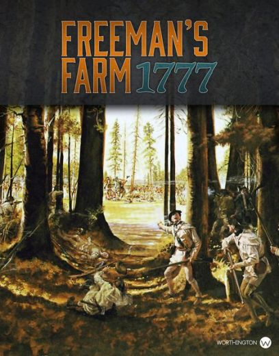 Freeman's Farm 1777 Cover