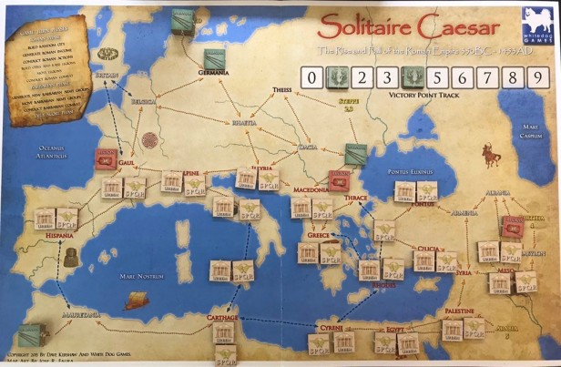 Solitaire Caesar Sweeping Empire