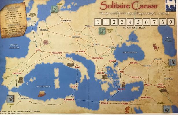 Solitaire Caesar Wild Provinces