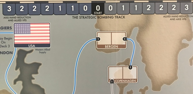 Struggle for Europe USA Box and Strategic Bombing Track