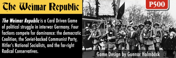 The Weimar Republic Banner 2