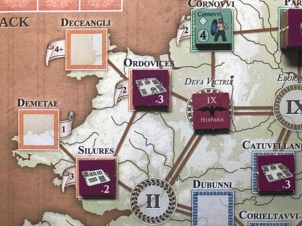 Agricola Garrison to +2 Settlement 2