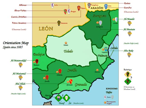 Almoravid Orientation-Map