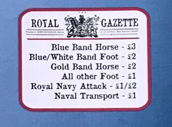 Don't Tread on Me Royal Gazette