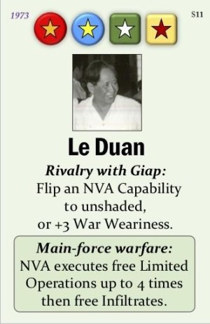 Fall of Saigon Le Duan Event Card