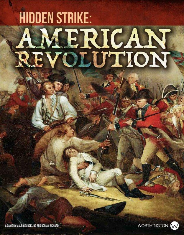 Hidden Strike American Revolution Cover