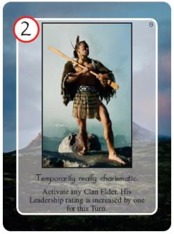 Maori Charismatic Elder Card