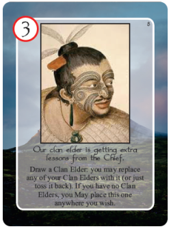 Maori Clan Elder Card