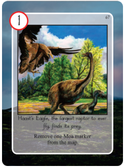 Maori Haast's Eagle Card