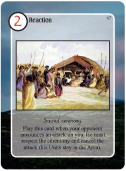 Maori Sacred Ceremony Card