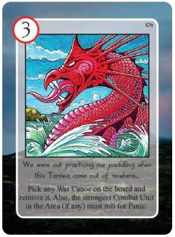 Maori Taniwa Card