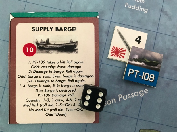 Profile in Courage Supply Barge