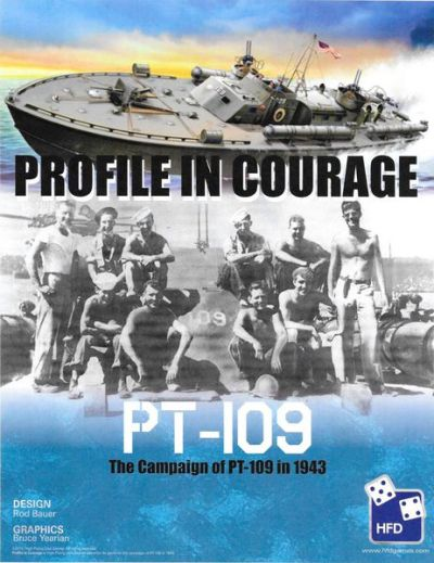 Profile in Courgae PT109 Cover