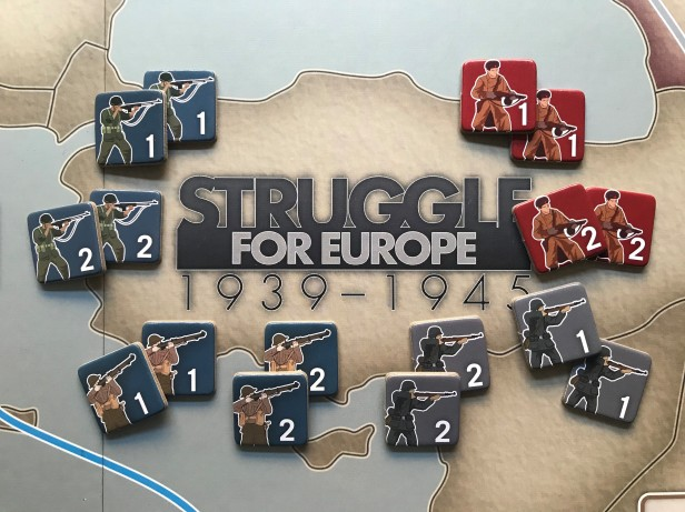 Struggle for Europe Infantry Unit Counters