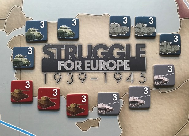 Struggle for Europe Tank Unit Counters