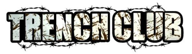 Trench Club Banner Barbed Wire