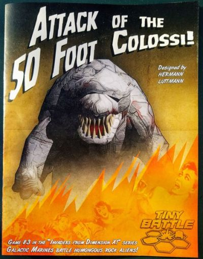 Attack of the 50 Foot Colossi Cover