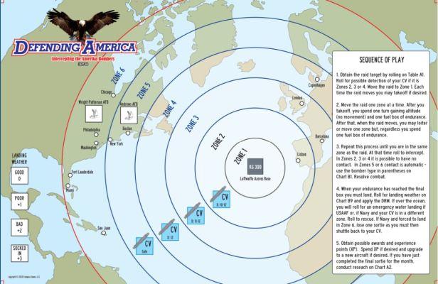 Defending America Map